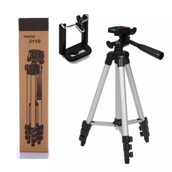 Tripod stand for Mobile and DSLR with Mobile holder and Pouch